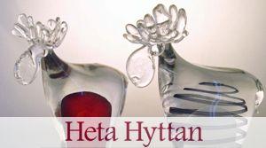 HETA HYTTAN Egen glastillverkning från formgivning till försäljning
