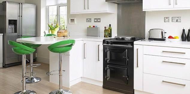 AGA past ook mooi in een strakke design keuken