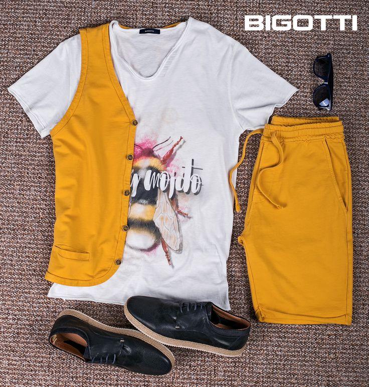 #Printed #tshirts, #vibrant #colours, #natural #fibres - #get a #nice #look for a #hot #summer #weekend! Up to 50% OFF #Summer #Sales #Bigottiromania #moda #barbati #tricouri #bermude #tinute #vara #vacanta #reduceri #discounts #promotie #mensfashion #menswear #menssclothing #mensstyle #casual #wardrobe #ootd #ootdmen #followus