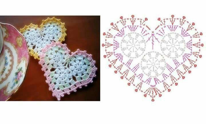 128 mejores imágenes de crochet en Pinterest   Patrones de ganchillo ...