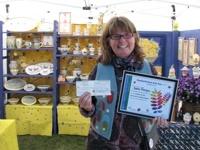 A winning artisan at a past Danforth East Arts Fair. Congrats!
