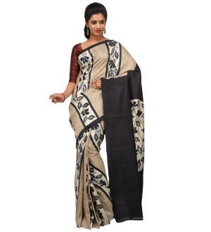 Tussar Silk Sarees Online are available at Rene International