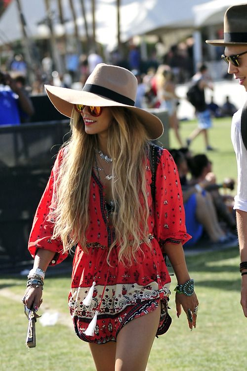Vanessa Hudgens @ Coachella 2014 spell and the gypsy wanderer playsuit. I want it but wish it wasn't so pricey!!!!