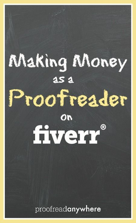 How to be a proof reader