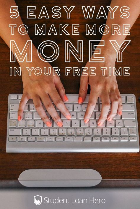Easy ways to make money in your free time (& profit from the sharing economy!)