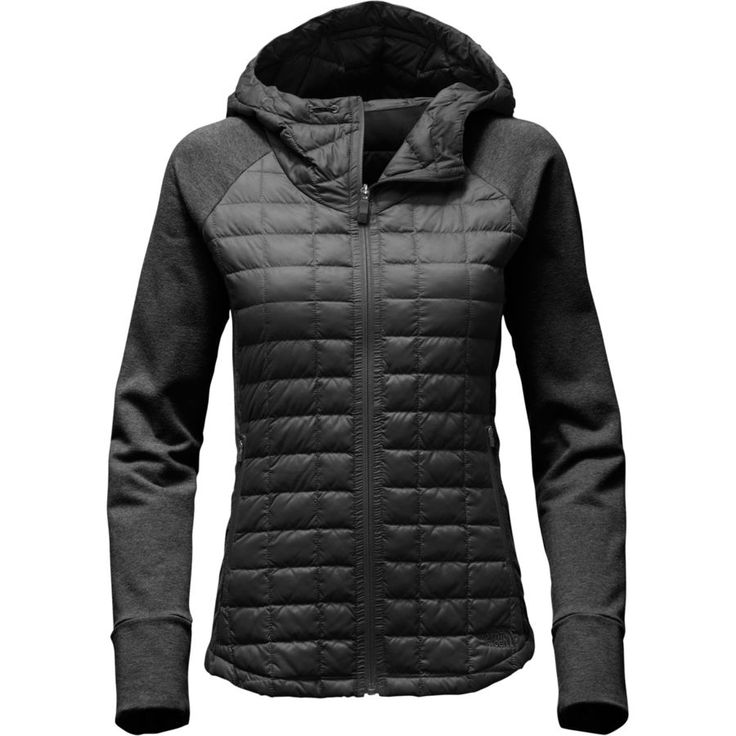 The North Face - Endeavor Thermoball Jacket - Women's - Tnf Black/Tnf Black Heather