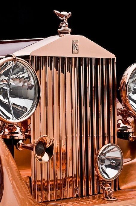 Rolls Royce - Vintage Luxury Car by janice.christensen-dean