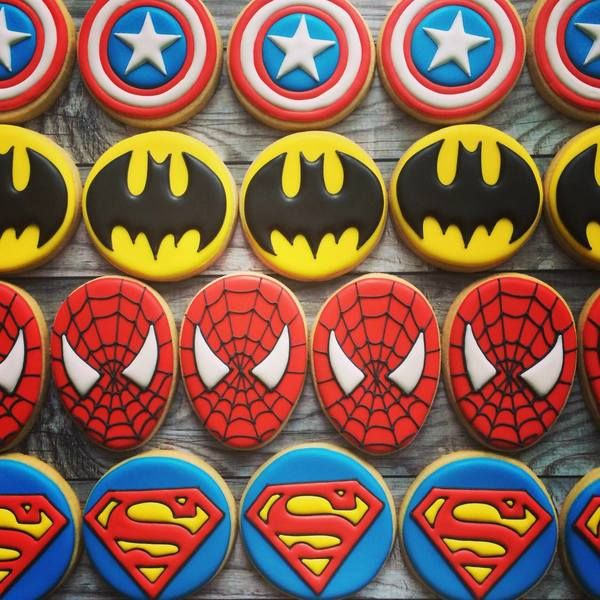 It's a bird, it's a plane, it's Superman (in cookie form)! The great American obsession with all things superhero has finally merged with another great American obsession: the decorated cookie. We'...