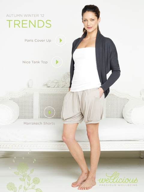 Enjoy the New Season, check out our Weekly Trend!    Nice Tank Top > http://www.wellicious.com/gbren/wellicious-nice-tank-top.html  Paris Cover Up > http://www.wellicious.com/gbren/paris-cover-up.html  Marrakech Shorts > http://www.wellicious.com/gbren/wellicious-marrakech-shorts.html