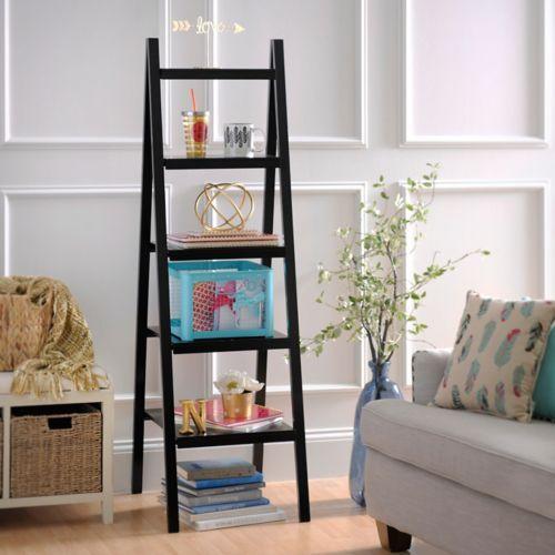 Black Ladder Shelf | Kirklands
