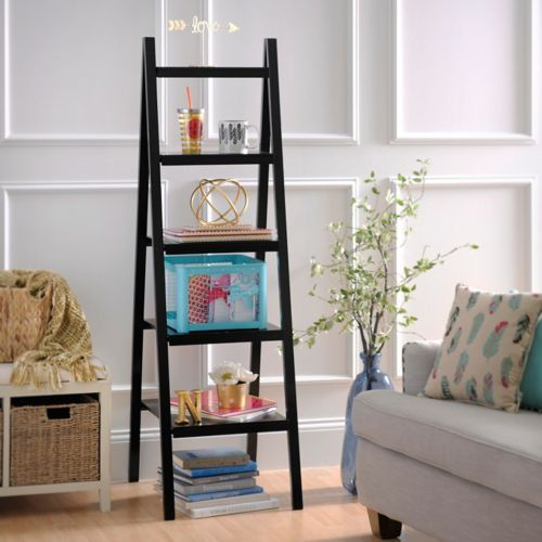 Black Ladder Shelf | Kirklands