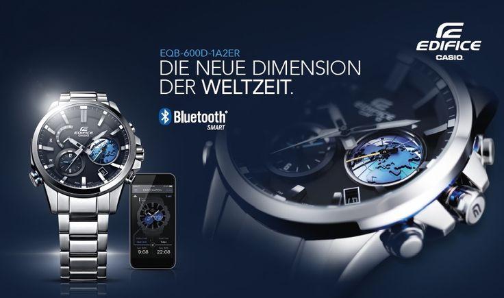 Die EQB-600 ist eine sportive Herrenuhr von Casio. Durch das Koppeln der Uhr mit dem Smartphone nutzt Ihr diverse Zusatzfunktionen. Hier findet Ihr die Uhr bei uns im Shop: https://www.uhrcenter.de/uhren/casio/edifice/casio-edifice-bluetooth-herrenuhr-eqb-600d-1a2er/ #Casio #EQB #uhrcenter #Uhr #watch #like #Technologie #Smart #Smartwatch #Bluetooth #Herrenuhr #Armbanduhr #Geschenkidee #sportiv #modern #Fashion #Lifestyle #Weltzeit #Tipoftheday