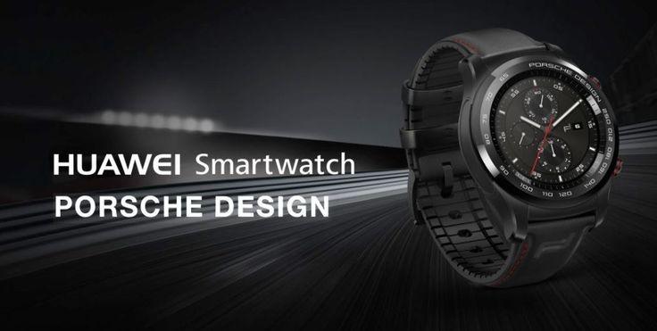 Porsche Design und Huawei Watch 2