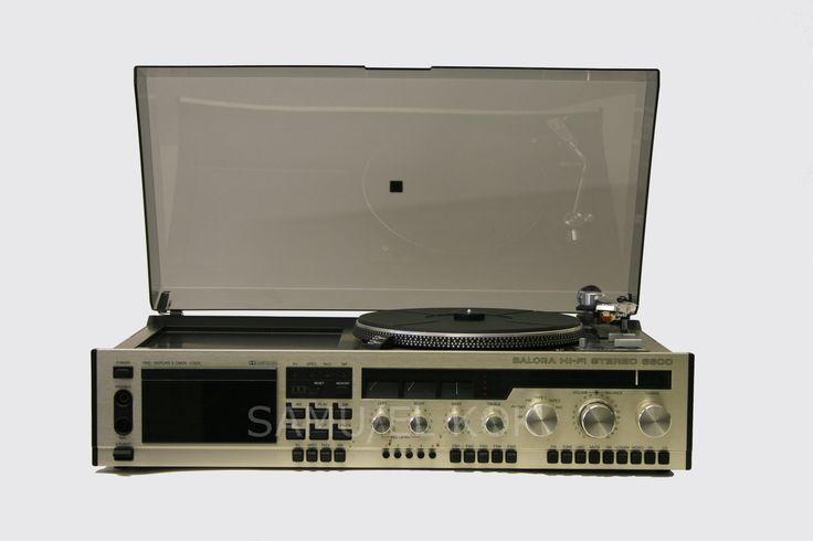 Salora HiFi-stereo 6600, Finland 1979.