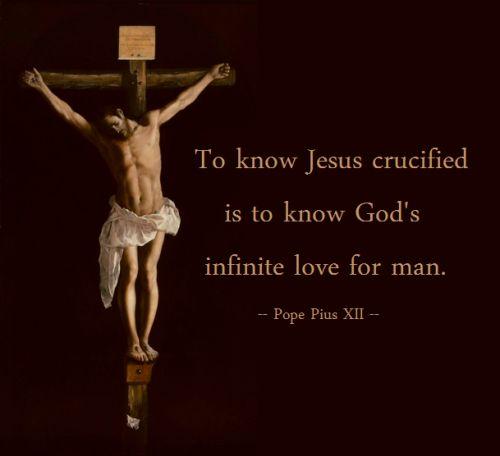 Pope Pius XII - Jesus Crucified