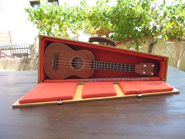Ukulele DIY hard case - Persistent Inappeasable Mind.