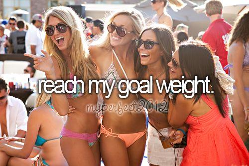 2012 = goal weight!!!