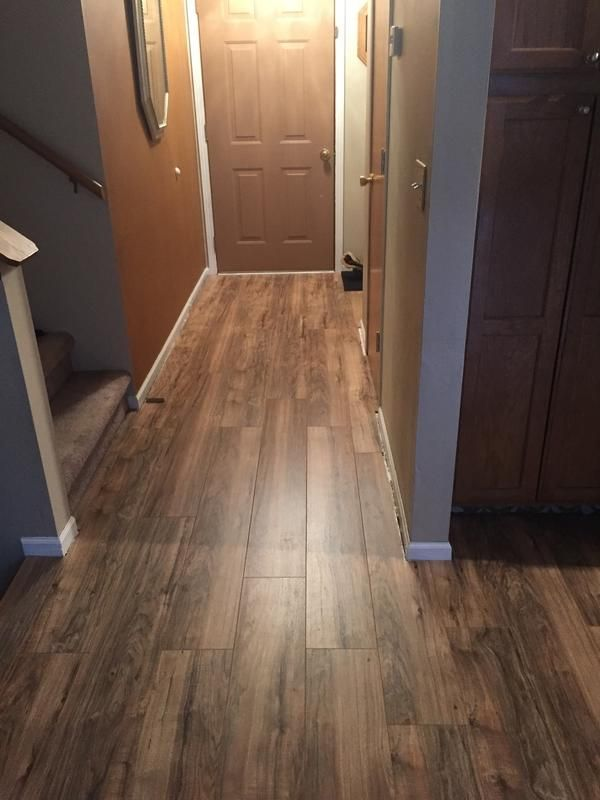 """I was trying update my mom's house to put it on the market. This stuff is amazing!!! This was my first laminate floor and it was a piece of cake! Love the final look."" [Natural Acacia]"