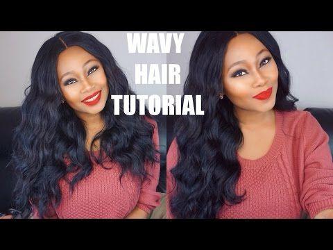 Chrissy Bales || Wavy Hair Tutorial - YouTube