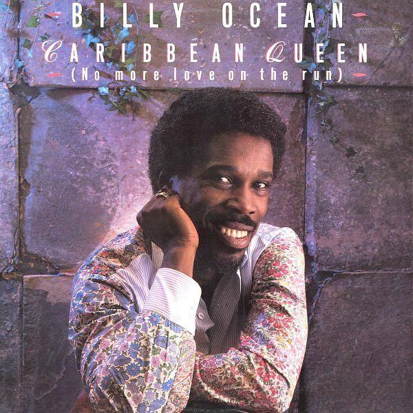 Billy Ocean - Caribbean Queen (No More Love On The Run) UK 12 inch vinyl single (1984)