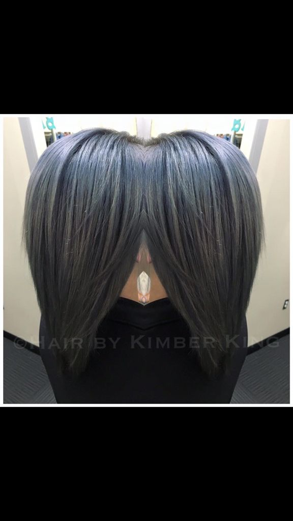 Custom Titanium Using Joico Color Intensity Titanium