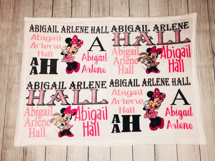 Excited to share the latest addition to my #etsy shop: Baby Girl Minnie Mouse Blanket. Baby photography Prop. Baby Name Blanket. Custom baby blanket. Disney baby bedding. #housewares #bedroom #bedding #babybedding #babyshowergift #minniemickeymouse #disney #newbornpictures #photographyprop #newbornpics #nameannouncement #minnie #pink #black#polkadot #minniemouse #cute