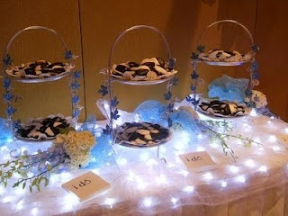 White Light Table Decorations