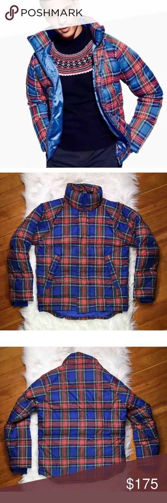 JW Anderson x Uniqlo plaid puffer jacket Puffer jackets