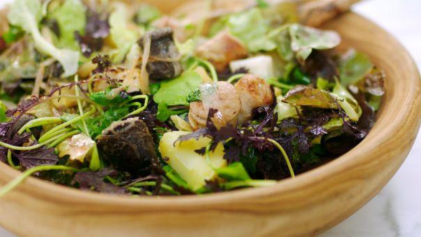Eén - Dagelijkse kost - Salade met knolselder en pens