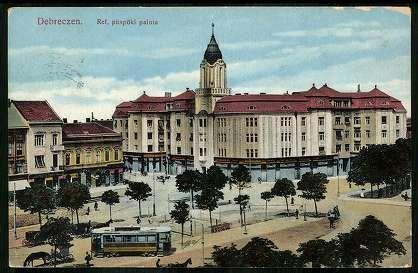 Debrecen Református püspöki palota   Képeslapok   Hungaricana