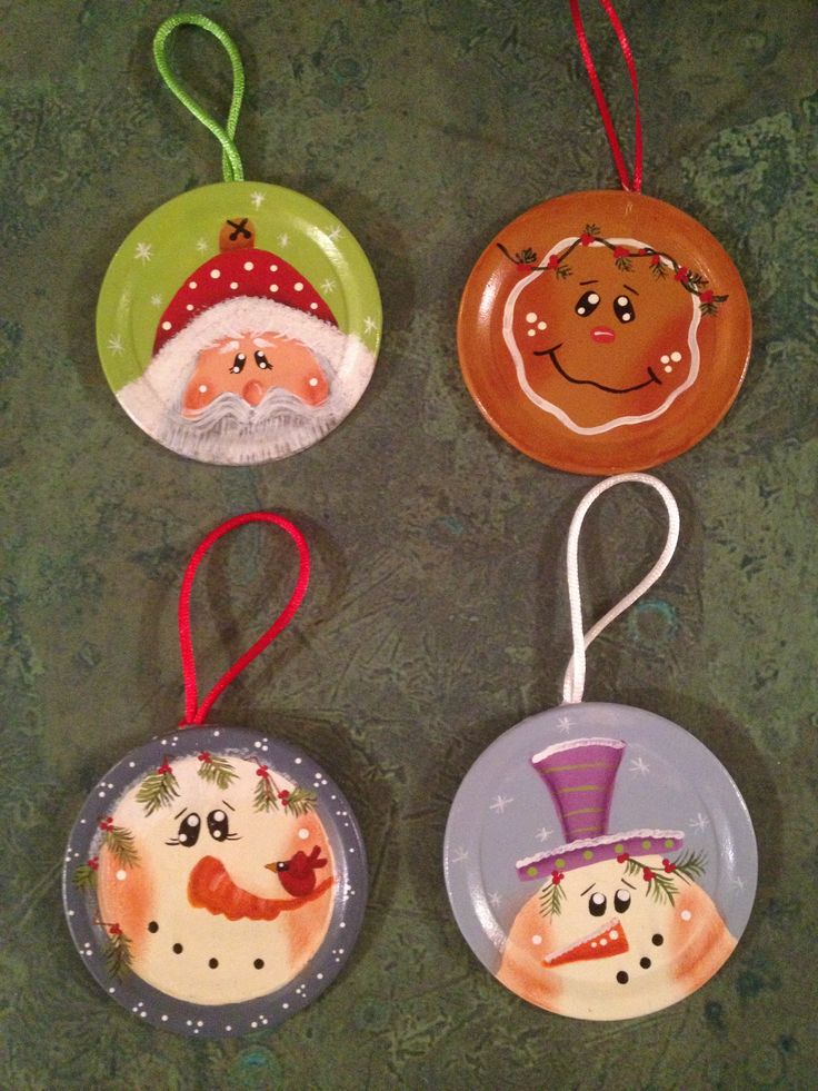 Painted Ornaments Craft