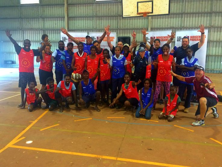 Where's Petero Civoniceva? Petero visited the Aurukun PCYC with locals and local police