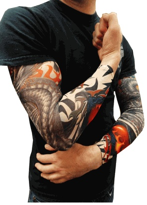 25 best images about sleeve tattoo fake tattoo sleeves for Best fake tattoos