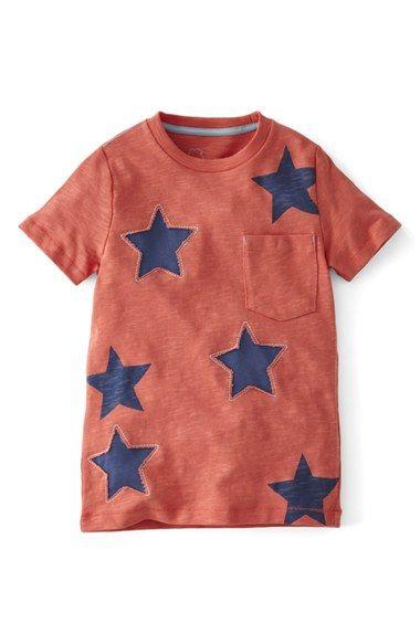 Mini Boden 'Reverse Appliqué' T-Shirt (Toddler Boys, Little Boys & Big Boys) available at #Nordstrom