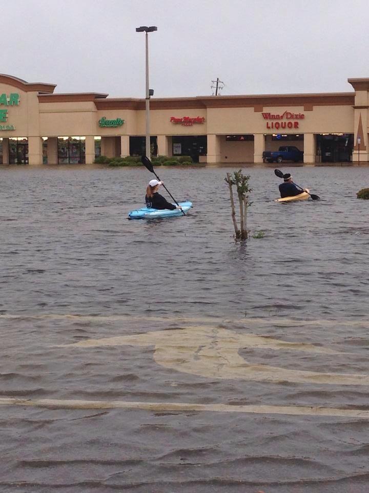 Gulf breeze, Florida after hurricane Ivan