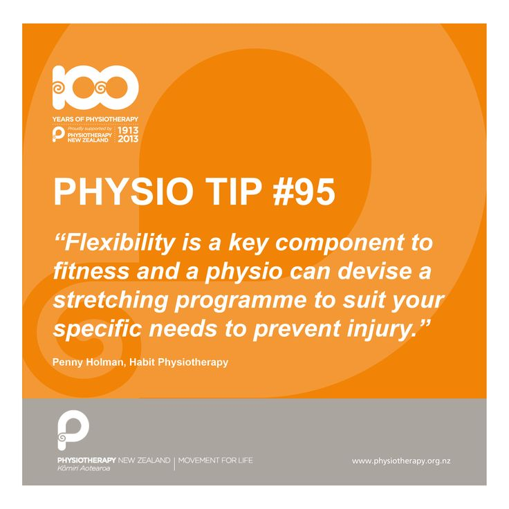 #physio tips. Flexibility is a key component to fitness.