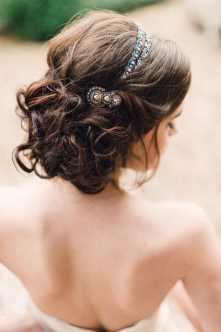 Absolute perfection - adore this tousled #updo {Jennifer C Nieman}