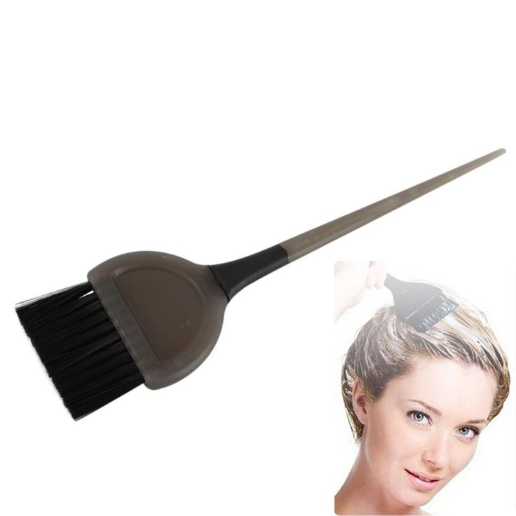 [Visit to Buy] Professional Salon Hair Bleach Tint Tools Dye Color Coloring Brush Comb For Hairdressing Hair Color Dye Tool Random Color #Advertisement