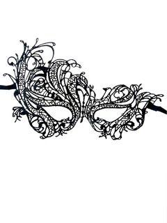 Shop Phoenix Crochet Lace Mask from choies.com .Free shipping Worldwide.