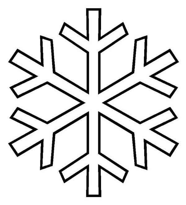 The 25+ best Snowflake templates printable ideas on Pinterest - snowflake template