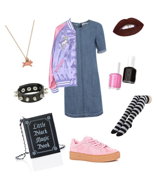 Little black magic by shantam-sunito on Polyvore featuring мода, George