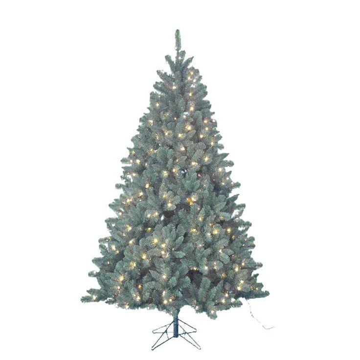 Fabulous Kurt Adler foot pre lit artificial Northwood Pine tree