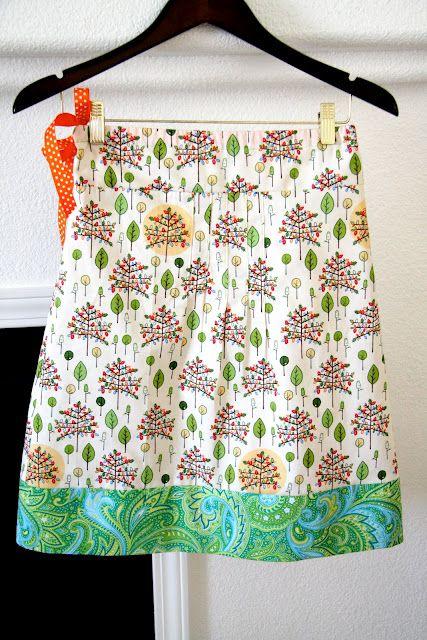 IMAGINE: A-Line Skirt Tutorial for Tween Girls