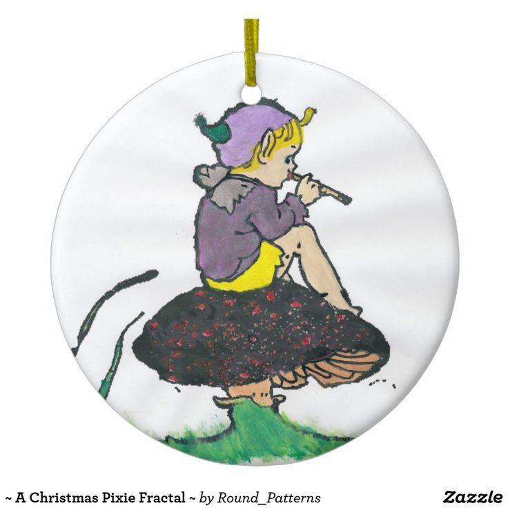~ A Christmas Pixie Fractal ~
