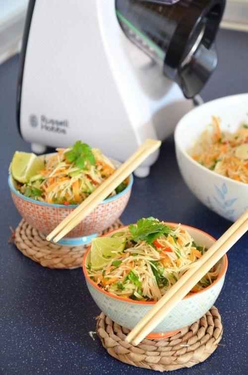 Thai tésztasaláta