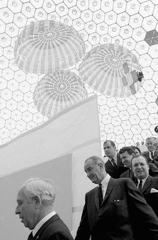 Lyndon Johnson at Expo 67