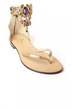 Ankle Gem Sandal