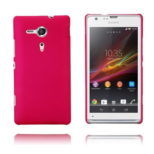 Hard Case (Hot Rosa) Sony Xperia SP Case