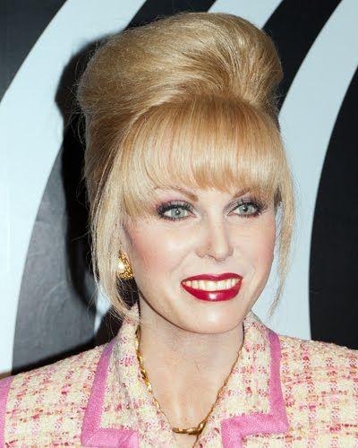 patsy absolutely fabulous wig   Patsy no museu de cera!