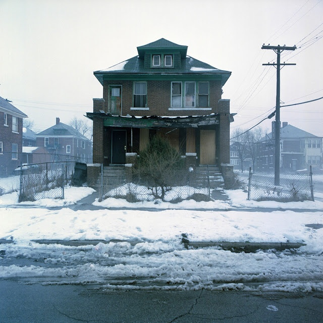 Poor Detroit! So Many HOMES Abandoned. Can You See The